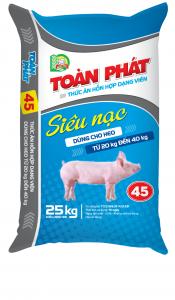45 (Heo thịt siêu nạc từ 20kg đến 40kg)