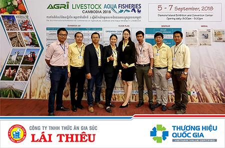 Lái Thiêu tại hội chợ quốc tế triển lãm nông nghiệp Campuchia 2018